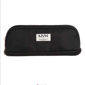 NYX Small double zipper makeup bag